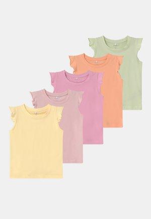 GIRL 5 PACK - Print T-shirt - sweet lilac