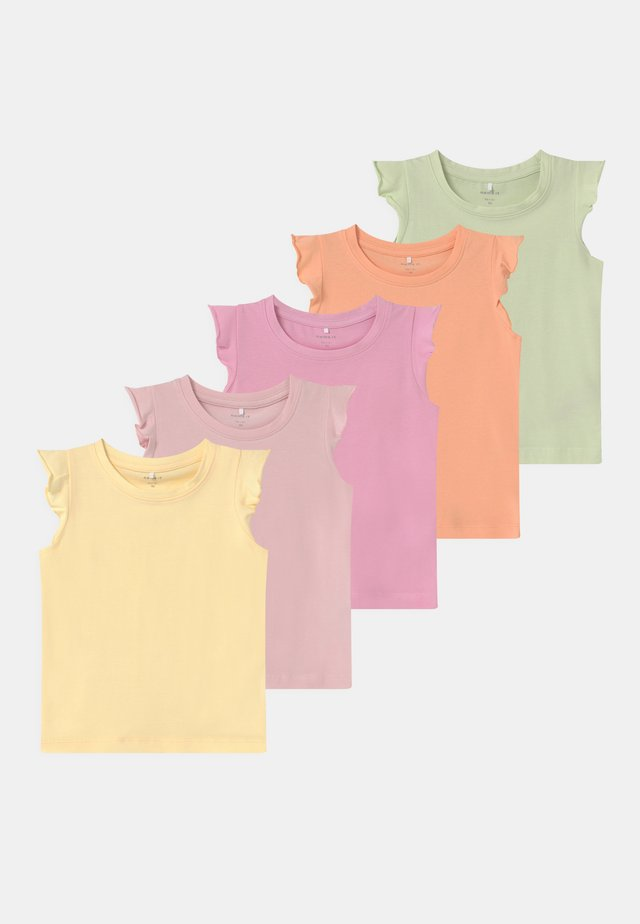 GIRL 5 PACK - T-shirt con stampa - sweet lilac