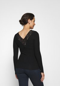 Pieces Maternity - PCMSIRI - Long sleeved top - black