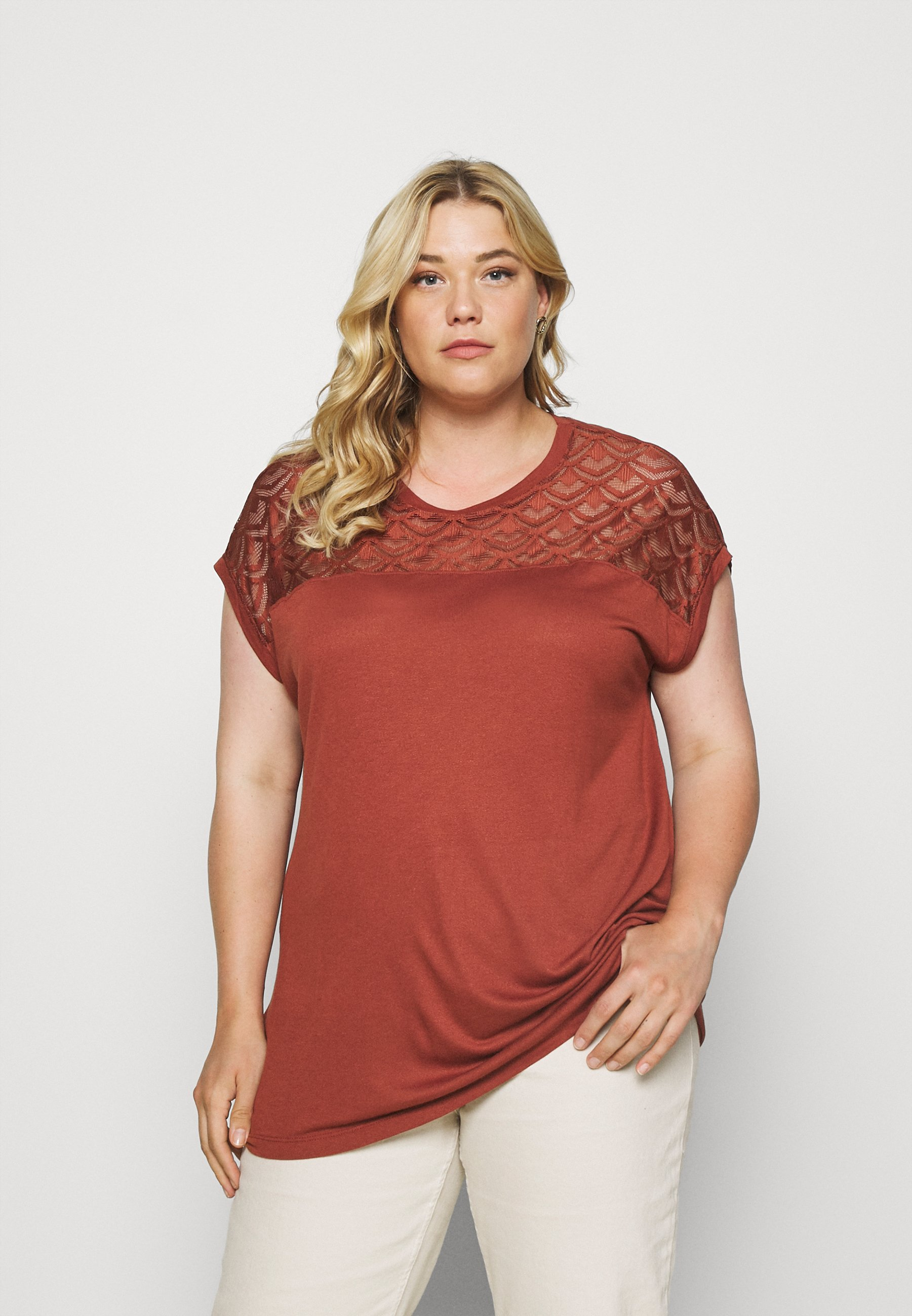 Damen CARFLAKE LIFE MIX TOP  - T-Shirt print