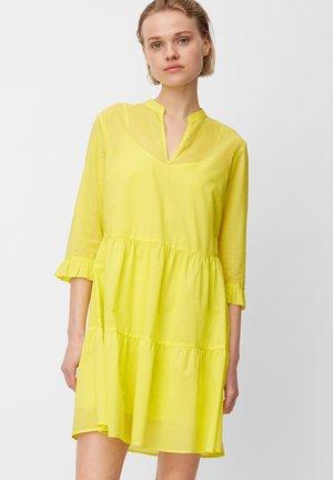 VOILE-QUALITÄT - Day dress - fresh yellow