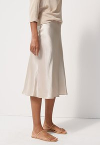 someday. - A-line skirt - beige - 3