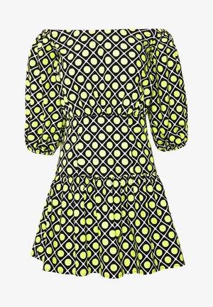 OTTAVIA DRESS - Day dress - black/yellow