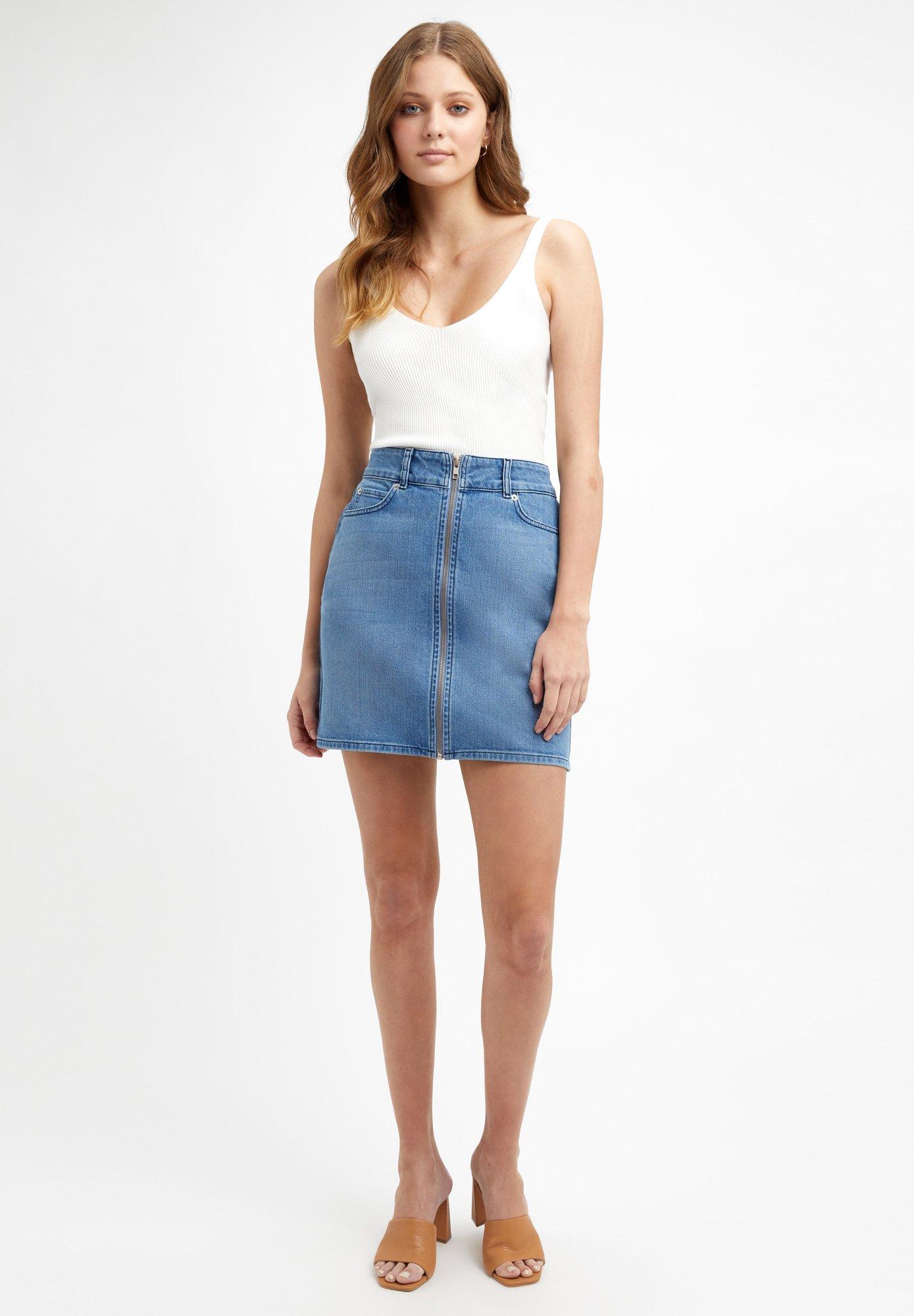 Femme Jupe en jean