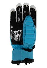 Zanier - Gloves - türkis-gelb - 2