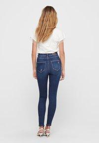 ONLY - ONLMILA - Jeans Skinny Fit - dark blue denim - 2