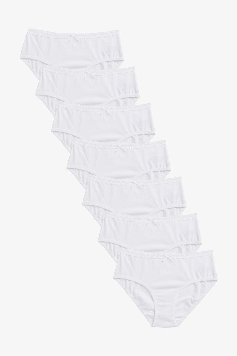 Next - 7 PACK - Briefs - white