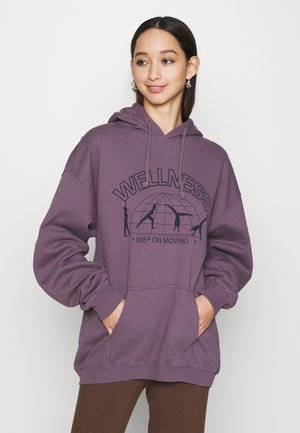 ENERGY HOODY - Sweater - purple