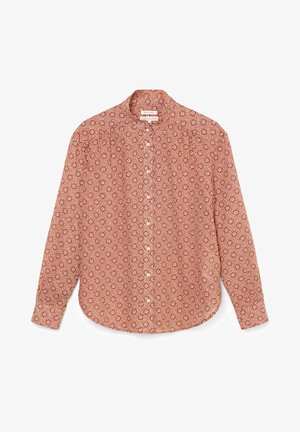VOILE - Button-down blouse - multi/hazy peach