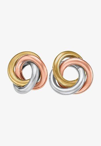Earrings - tricolor