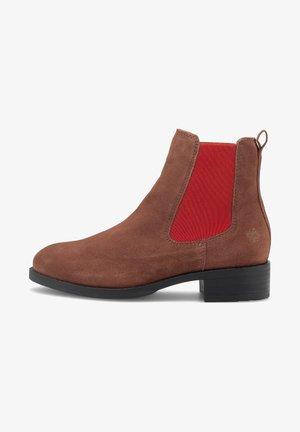 GABY - Ankle boots - mittelbraun