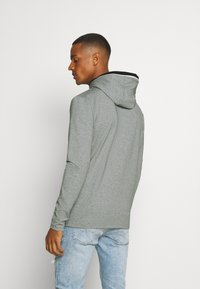 11 DEGREES - BLOCK HOODIE - Hoodie - grey marl - 2