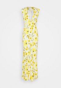 Bec & Bridge - DAPHNE MIDI DRESS - Maxiklänning - white/yellow - 4