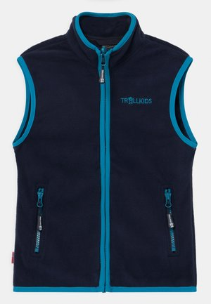 KIDS ARENDAL UNISEX - Waistcoat - navy/light blue