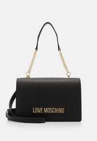 Love Moschino - BORSA SMOOTH SCURO - Handtas - black - 2