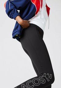 Lacoste LIVE - Legging - black/white - 3