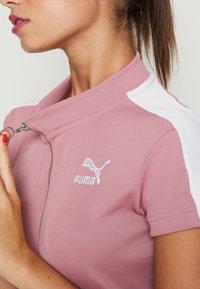Puma - CLASSICS TIGHT DRESS - Kjole - foxglove - 5