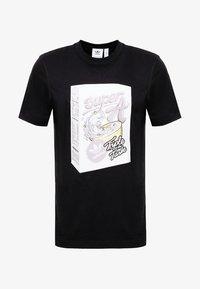 BODEGA SUPER A POP ART GRAPHIC TEE - T-shirt imprimé - black