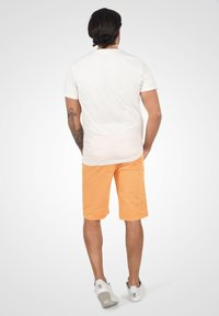 Solid - RON - Denim shorts - orange chi - 2