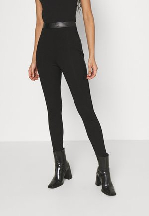 VIVALAS - Leggings - Trousers - black