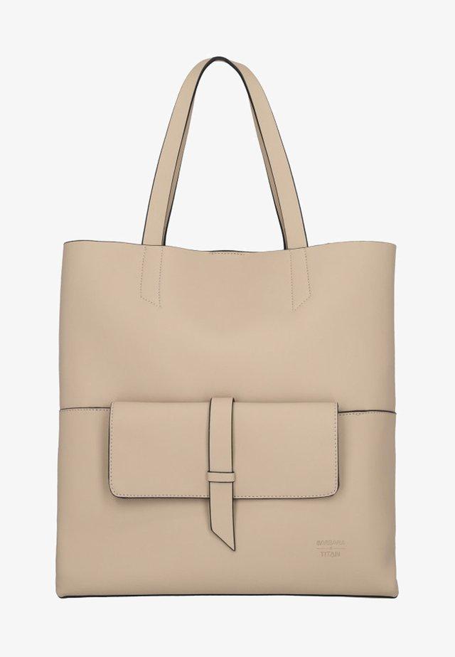 BARBARA  - Tote bag - sand