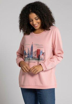 Sweatshirt - zartrosa