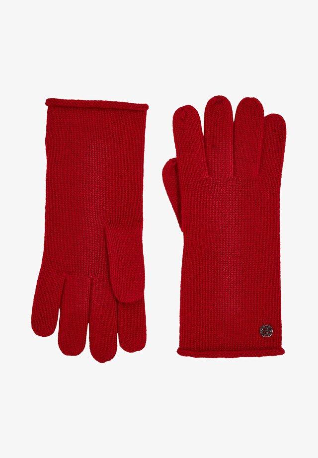 Fingerhandschuh - red