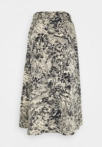 Monki - SIGRID SKIRT - A-line skirt - blue dark  landscape - 1