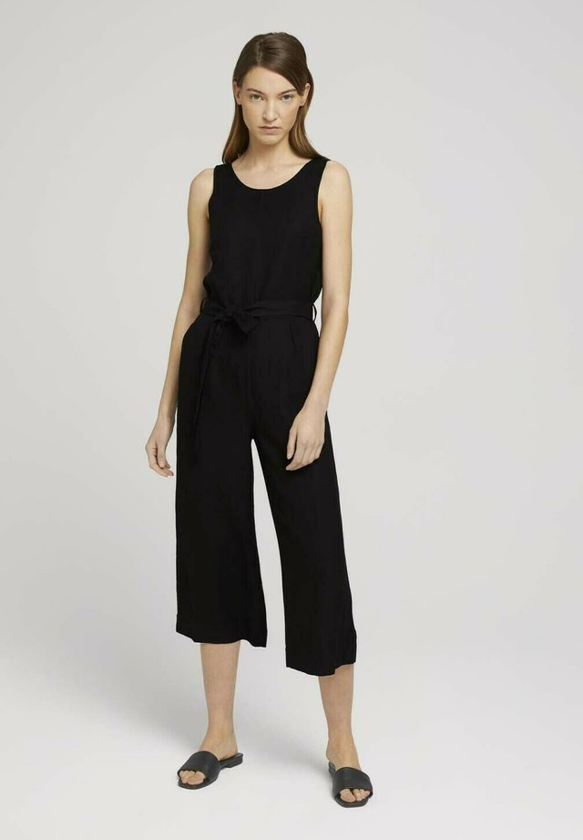 Jumpsuit - deep black