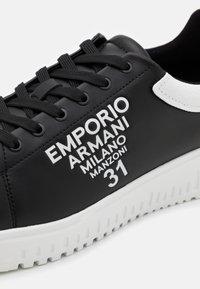 Emporio Armani - Trainers - black/white - 5