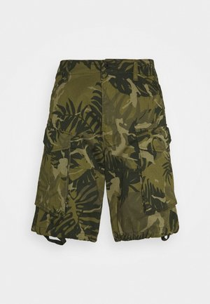 ROVIC RELAXED - Shorts - army green/sage