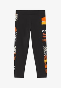 Puma - CLASSICS WILD LEGGINGS - Leggings - black