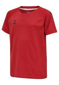 Hummel - Print T-shirt - true red - 1