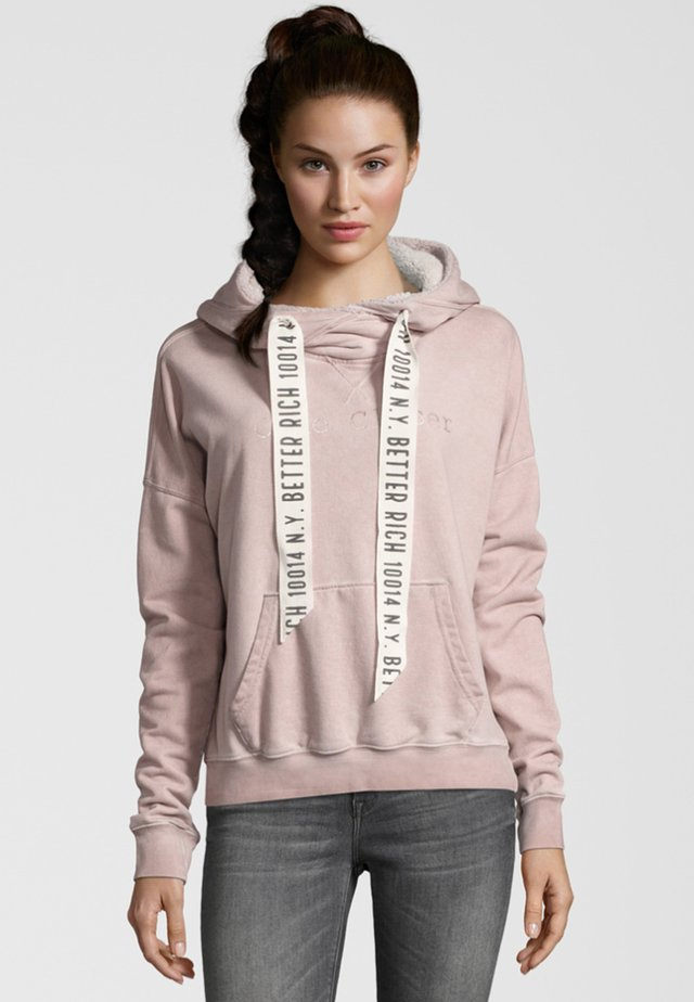 BOXY  - Sweat à capuche - light rose