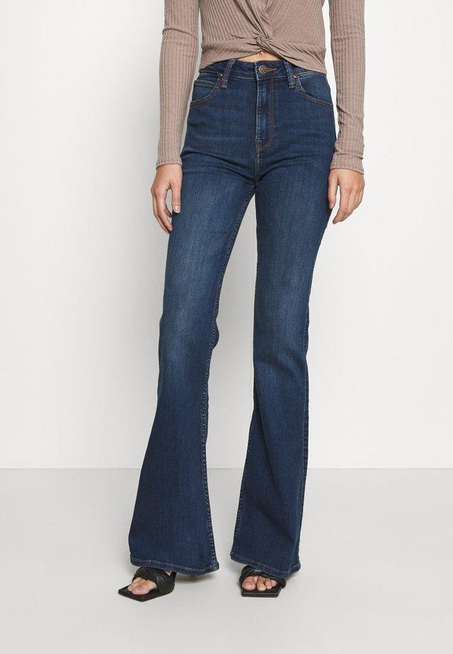 BREESE - Jeans a zampa - dark refined