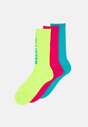 CREW UNISEX 3 PACK - Ponožky - pop