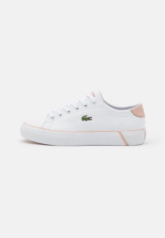 GRIPSHOT - Baskets basses - white/light pink