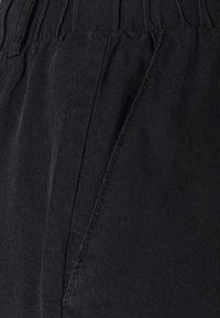 Noisy May Tall - NMMARIA PAPERBACK - Shorts di jeans - black - 2