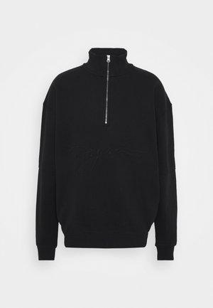 ARIZONA HALFZIP  UNISEX - Sweater - washed black