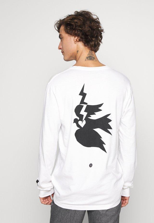 CHAMBER - Maglietta a manica lunga - white