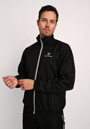 CARSON  - Training jacket - blk/wht