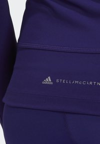 adidas by Stella McCartney - TRUEPACE HOODED LONG SLEEVE MIDLAYER TOP - Bluza z kapturem - purple - 5