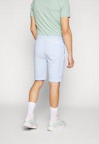 Calvin Klein - GARMENT FRONT LOGO - Teplákové kalhoty - blue - 2