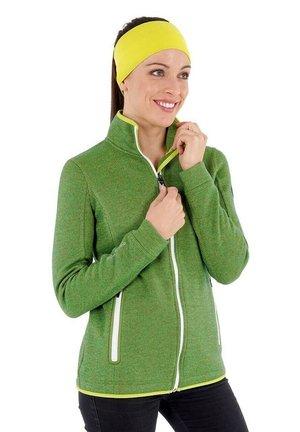 SINA - Zip-up sweatshirt - wiese