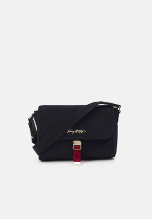 RELAXED CROSSOVER - Across body bag - navy