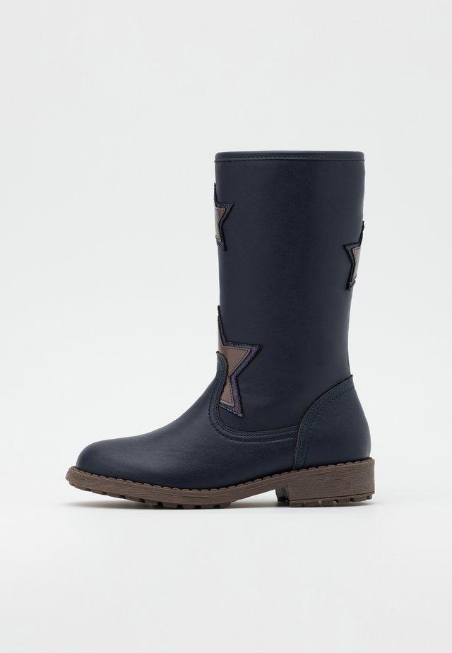 Vysoká obuv - dark blue