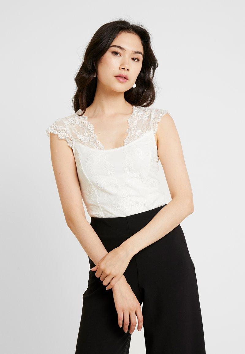 Rosemunde - BODYSTOCKING  - T-Shirt print - ivory