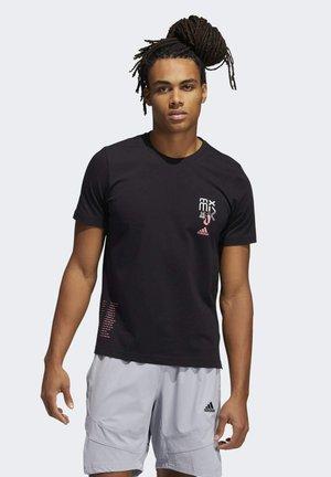 BASKETBALL SIGNATURE GRAPHIC - Print T-shirt - black