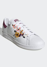 adidas Originals - STAN SMITH SPORTS INSPIRED SHOES - Trainers - ftwr white/power berry/pink tint - 3