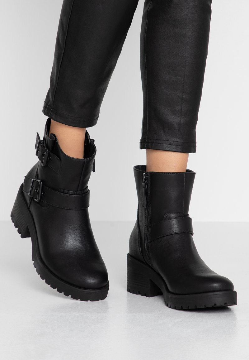 Madden Girl - LAURREL - Cowboy/biker ankle boot - black